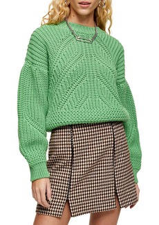 Topshop Balloon Sleeve Sweater