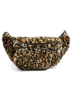 Topshop Baxter Leopard Belt Bag