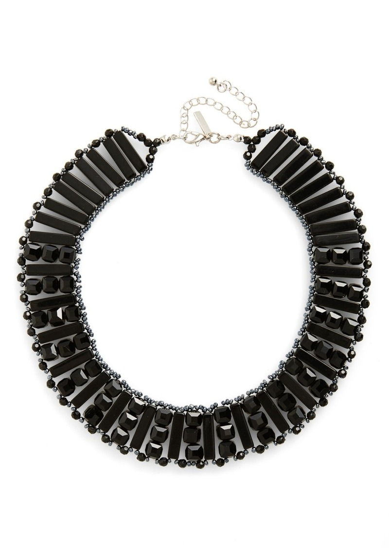 Topshop Beaded Collar Necklace
