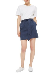 Topshop Belted Paperback Skirt (Petite)