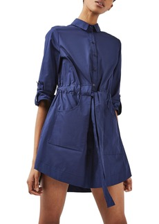 Topshop Belted Shirtdress