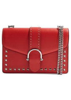 Topshop Beth Studded Shoulder Bag