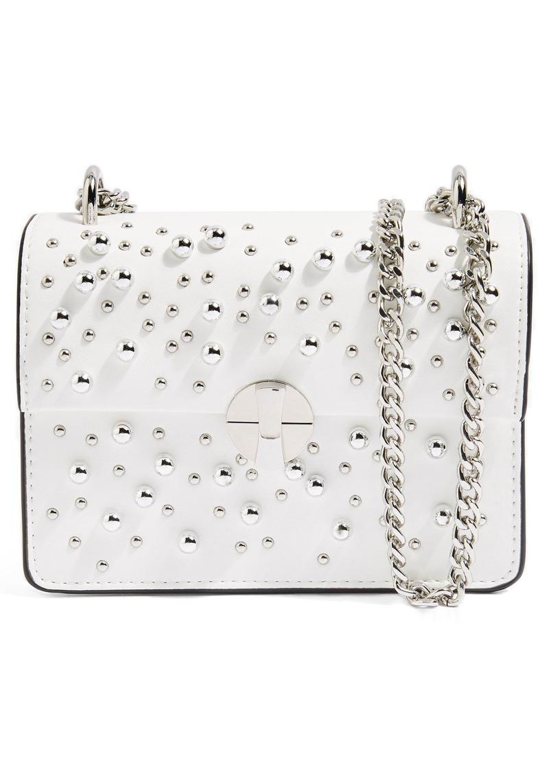 Topshop Topshop Betty Ball Stud Faux Leather Crossbody Bag Now  31.20 c52d50e7a6a0e