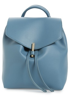 Topshop Blake Mini Faux Leather Backpack