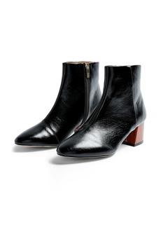 Topshop Block Heel Bootie (Women)