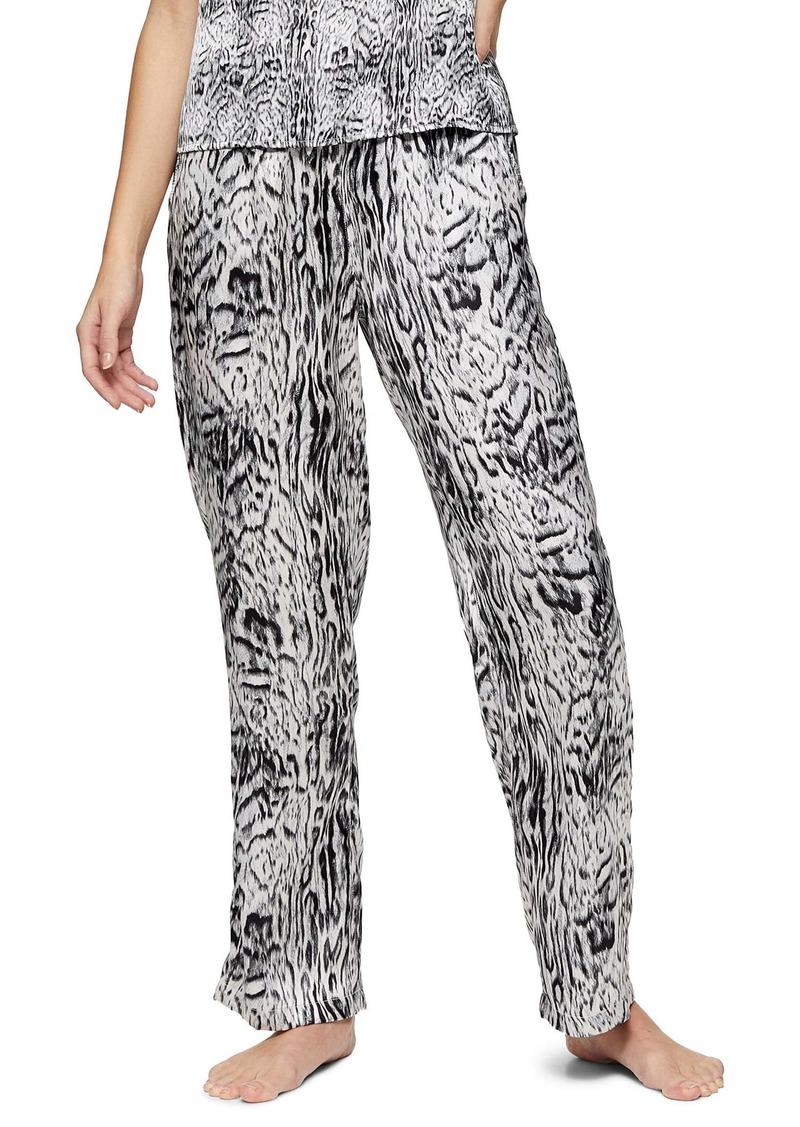 Topshop Blur Animal Print Pajama Pants