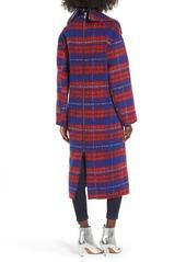 Topshop Topshop Bodika Check Coat Outerwear