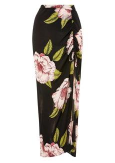 Topshop Bold Bloom Maxi Skirt