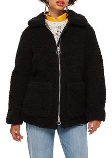 Topshop Borg Jacket