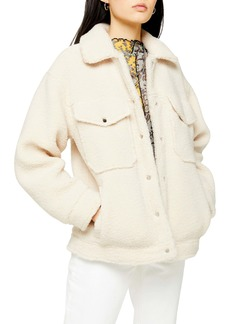 Topshop Borg Western Jacket