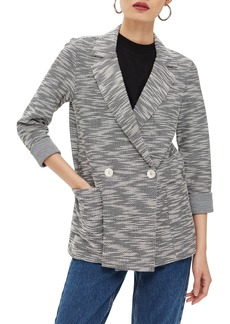 Topshop Bouclé Button Jacket