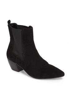 Topshop Bounty Suede Pointy Toe Bootie (Women)