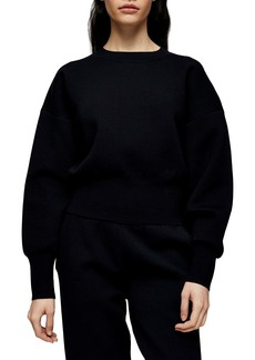 Topshop Boutique Crop Sweatshirt