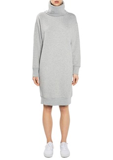 Topshop Boutique Diana Cowl Sweatshirt Dress