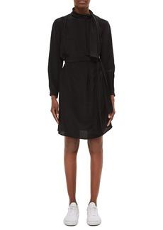 Topshop Boutique Drape Scarf Silk Dress