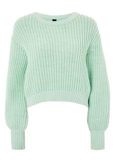 Topshop Boutique Fisherman Crewneck Sweater