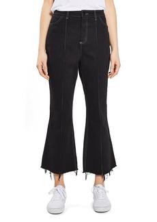 Topshop Boutique Kick Flare Jeans