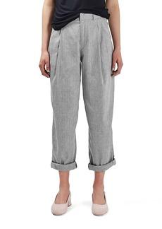 Topshop Boutique Linen & Cotton Trousers