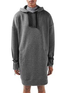 Topshop Boutique Oversize Hoodie Dress