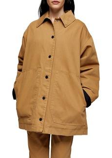 Topshop Boutique Oversize Jacket