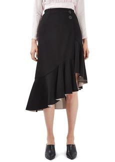 Topshop Boutique Ruffle Skirt