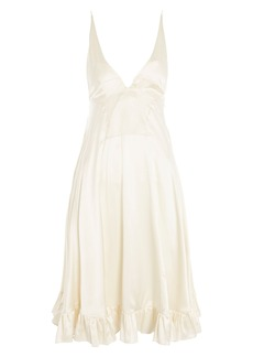 Topshop Satin Slipdress