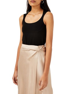 Topshop Boutique Scoop Neck Sleeveless Bodysuit
