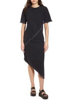 Topshop Boutique Spiral Denim Shift Dress