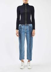Topshop Boutique Step Hem Jeans