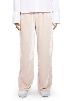 Topshop Boutique Velvet Pants