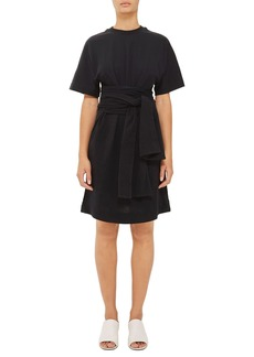 Topshop Boutique Wrap Waist T-Shirt Dress