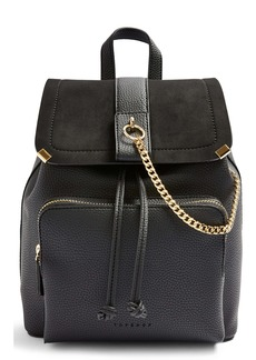 Topshop Brandy Faux Leather Backpack