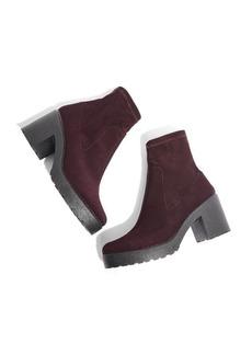 Topshop Brick Knit Sock Bootie (Women)