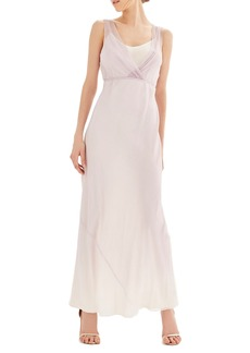 Topshop Bride Silk Column Gown