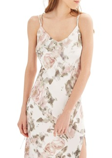 Topshop Bride Asymmetrical Slipdress