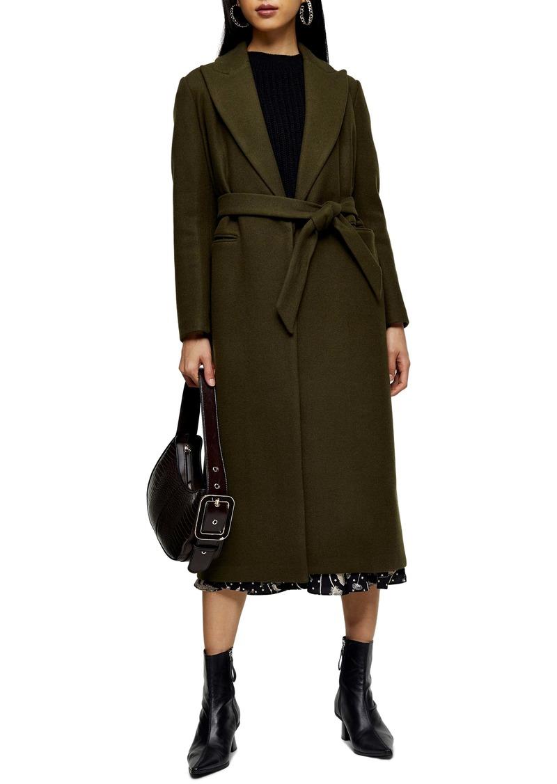 Topshop Bunty Belted Coat