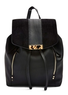 Topshop Burst Faux Leather Backpack