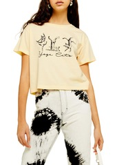Topshop By Tee & Cake Yoga Cats Tee