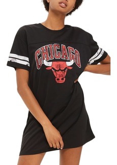Topshop by UNK Chicago Bulls T-Shirt Dress