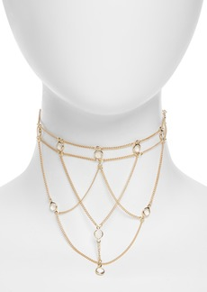 Topshop Cage Choker Necklace