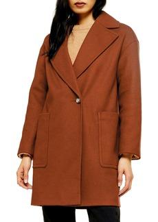 Topshop Carly Coat (Regular & Petite)