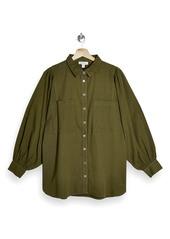 Topshop Casual Button-Up Shirt