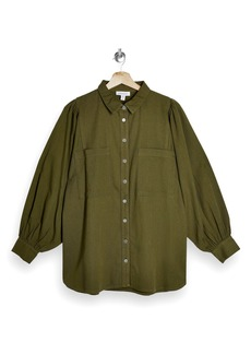 Topshop Casual Button-Up Shirt
