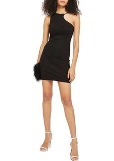 Topshop Chain Curve Mini Body-Con Dress