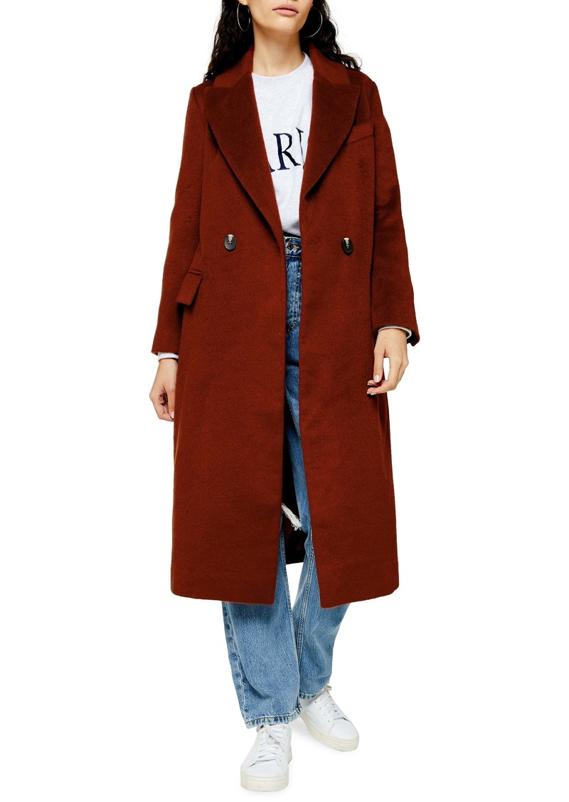 Topshop Charlie Long Coat