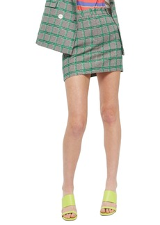 Topshop Check Pelmet Skirt