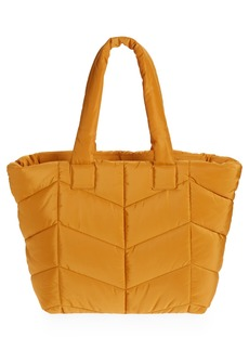 Topshop Chevron Quilted Tote