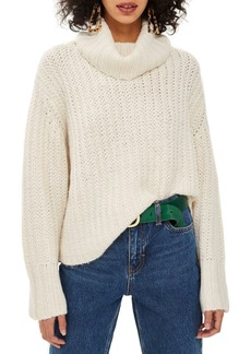 Topshop Chunky Roll Sweater