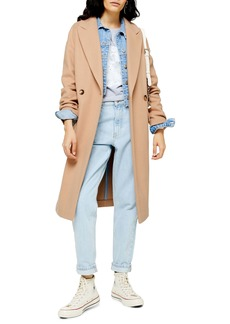 Topshop Classic Double Breasted Coat