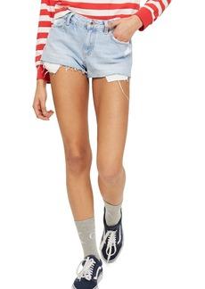 Topshop Cory Light Denim Shorts